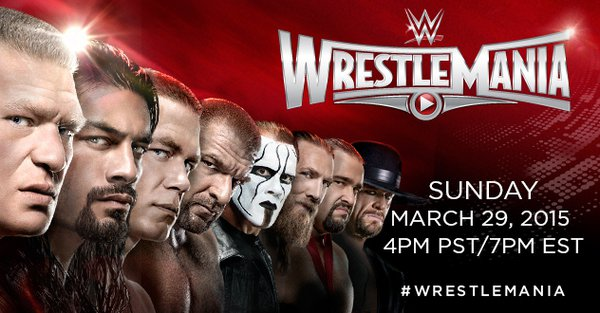 Watch WWE WrestleMania 31 2015