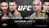 Watch UFC 189: MENDES VS. MCGREGOR 7/11/2015 Full Show Online Free
