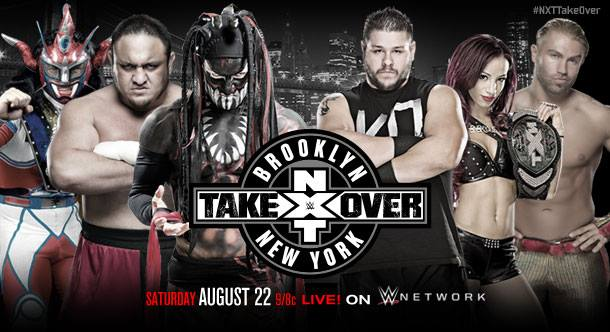 Watch WWE NXT TakeOver: Brooklyn 8/22/15 – 22nd August 2015