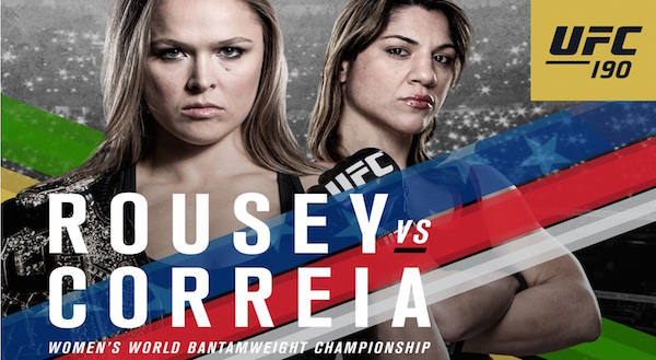 Watch UFC 190: ROUSEY vs. CORREIA 8/1/2015 Full Show Online Free