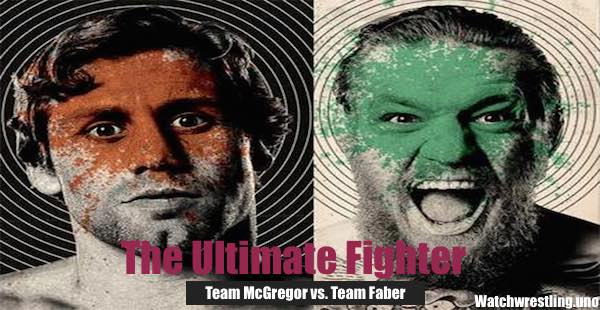 Watch The Ultimate Fighter Season 22 Episode 5: Team McGregor vs. Team Faber 10/14/2015
