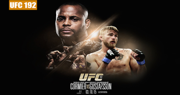 Watch UFC 192: Cormier vs. Gustafsson 10/3/2015 Full Show Online Free