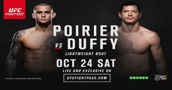 Watch UFC Fight Night 76: Poirier vs Duffy 10/24/2015 Full Show Online Free