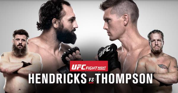 Watch UFC Fight Night 82: Hendricks vs. Thompson