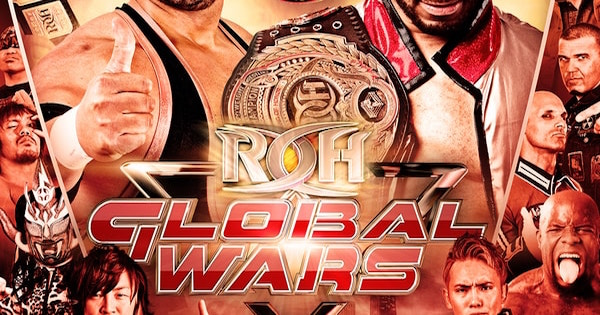 Watch ROH Global Wars PPV 5/8/16