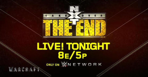Watch WWE NXT Takeover: The End 6/8/16