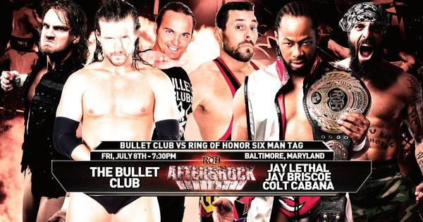 Watch ROH Aftershock 7/8/16