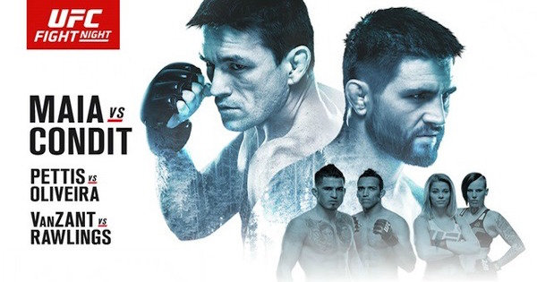 Watch UFC on Fox 21: Maia vs. Condit