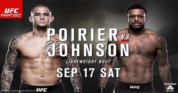 Watch UFC Fight Night 94: Poirier vs. Johnson