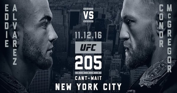 Watch UFC 205: Alvarez vs. McGregor