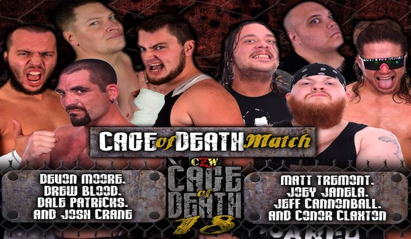 Watch CZW Cage of Death XVIII iPPV 2016