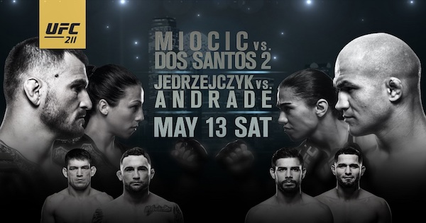 Watch UFC 211: Miocic vs Dos Santos 2 5/13/17