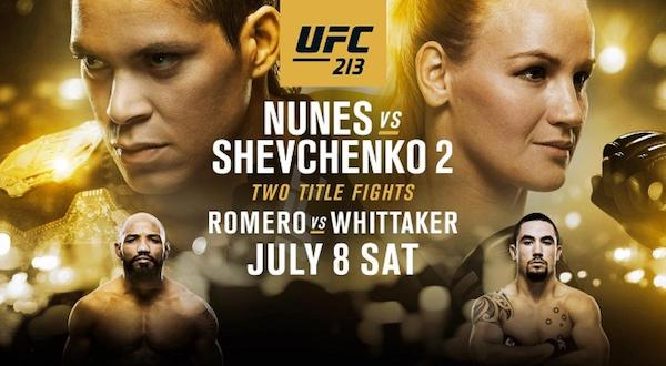 Watch UFC 213: Nunes vs. Shevchenko 2