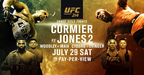 Watch UFC 214: Cormier vs. Jones 2