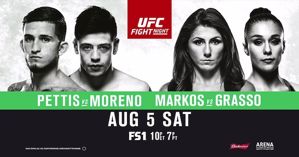 Watch UFC Fight Night 114: Pettis vs Moreno
