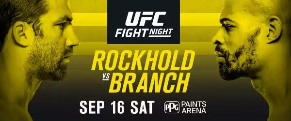 Watch UFC Fight Night 116: Rockhold vs. Branch