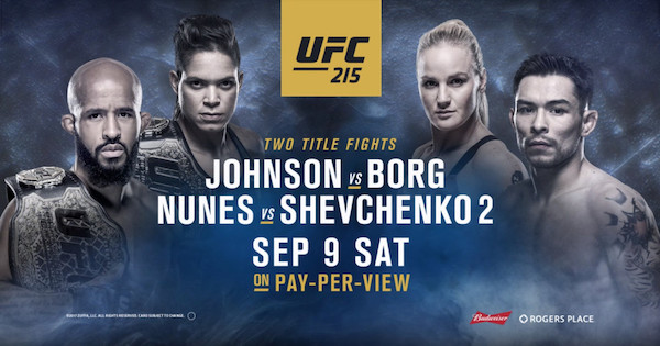 Watch UFC 215: Nunes vs. Shevchenko 2