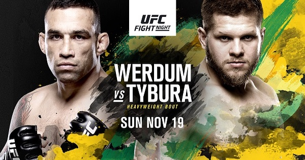 Watch UFC Fight Night 121: Werdum vs. Tybura