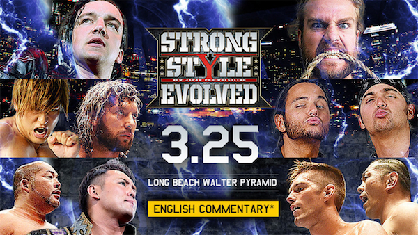 Watch NJPW Strong Style Evolved 2018 3/25/18