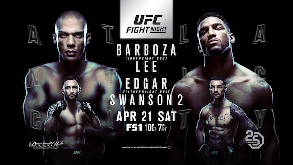 Watch UFC Fight Night 128: Barboza vs Lee