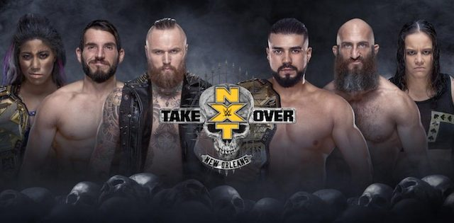Watch WWE NXT TakeOver: New Orleans 2018 4/7/18