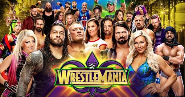 Watch WWE WrestleMania 34 2018 Live Online