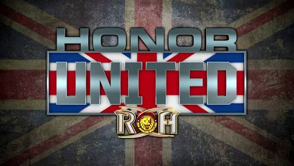 Watch ROH Honor United Doncaster 2018 5/27/18