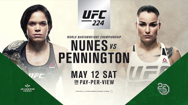 Watch UFC 224: Nunes vs. Pennington