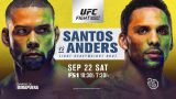 Watch UFC Fight Night 137: Santos vs. Anders