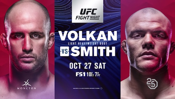 Watch UFC Fight Night 138: Volkan vs. Smith