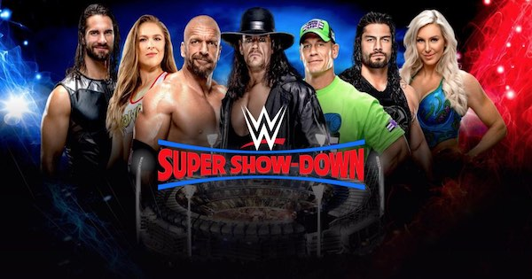 Watch WWE Super Show-Down 2018 Online