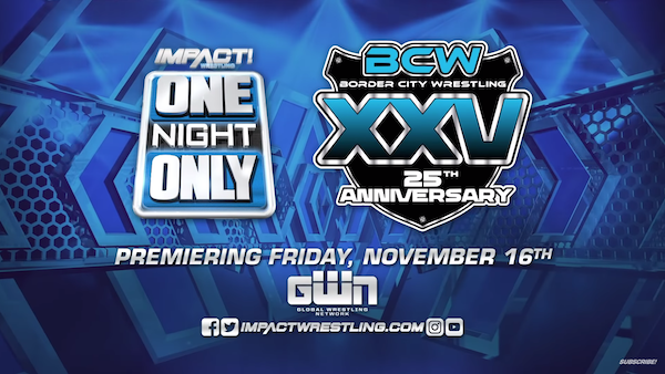 Watch iMPACT Wrestling One Night Only: BCW 25th Anniversary 2018