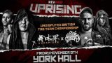 Watch RevPro Wrestling Uprising 11/9/18