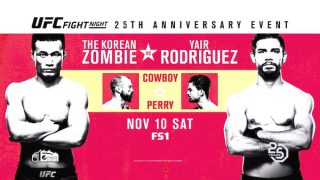 Watch UFC Fight Night 139: Korean Zombie vs. Rodriguez
