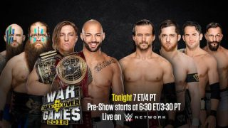 Watch WWE NXT TakeOver 2018: WarGames 2018 11/17/18
