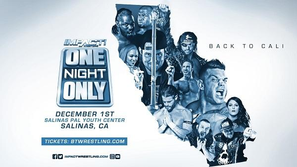 Watch iMPACT Wrestling One Night Only: Back To Cali 2018