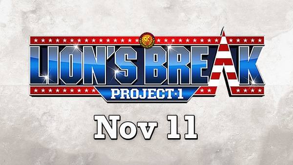Watch NJPW Lions Break Project 2018 11/10/18 Day 1, 2