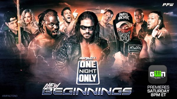 Watch iMPACT Wrestling One Night Only: New Beginning 2019