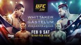 Watch UFC 234: Whittaker vs. Gastelum